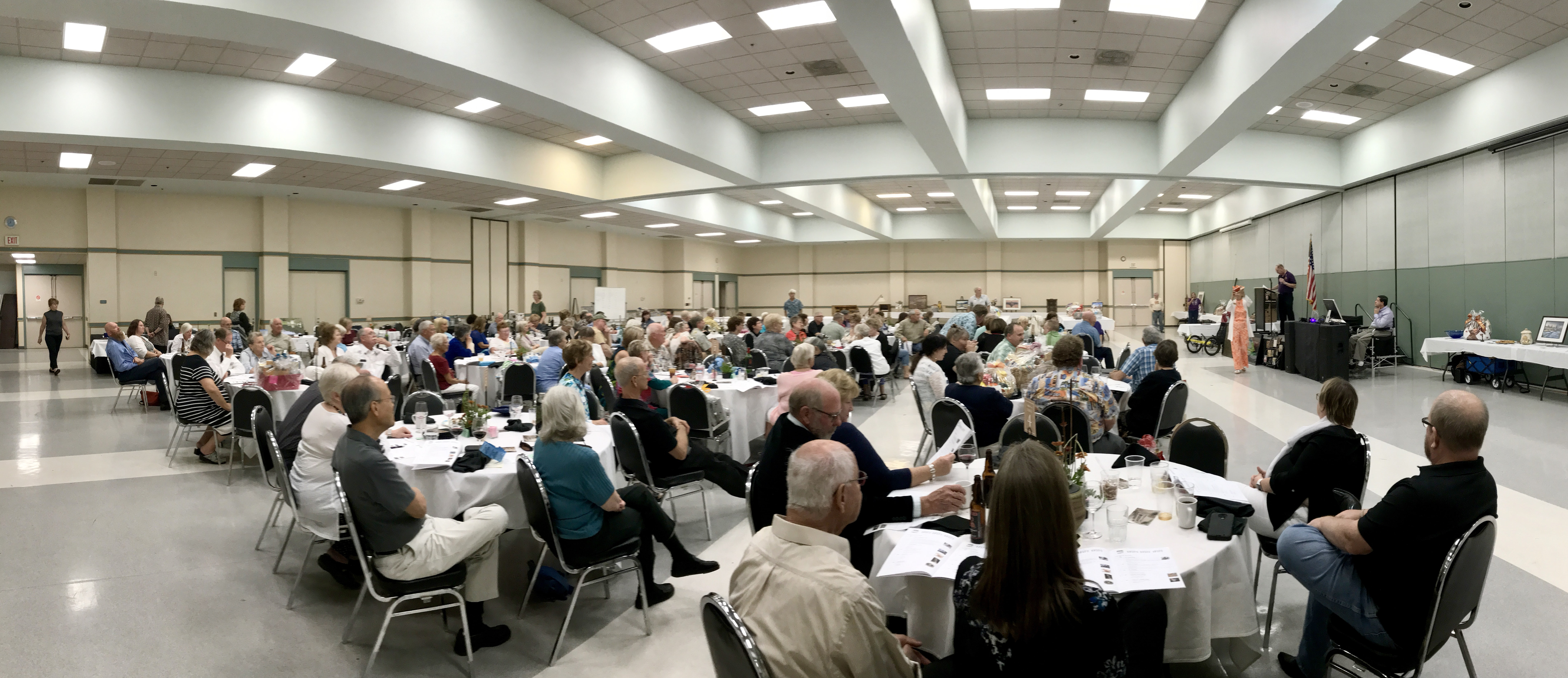 dinner and auction pano